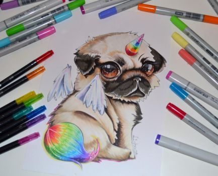 Pugasus by Lighane
