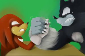 Armwrestling by limirina