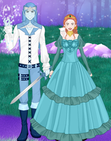 Moon Prince and Human Princess by LadyIlona1984