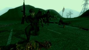 NCR fight by 1odie2