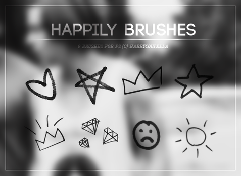 Happily Brushes - {styxlik} by harryconutella