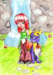 V-Day 2012: Spyro+Elora by Lolly-pop-girl732