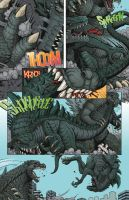 Godzilla: ROE Issue 2 page 5 by KaijuSamurai
