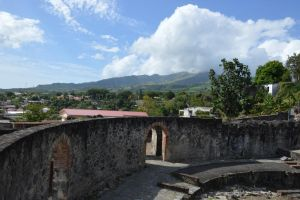 Ruins of Theater of Saint-Pierre in Martinique by A1Z2E3R