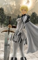 Clare-Claymore by jade-arts