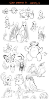 all de pokemon -- part 1 by onisuu