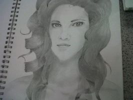 Michelle Rodriguez by Kelly-ART