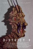 District 9 poster by juhaszmark