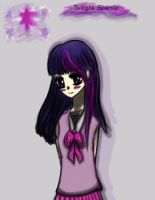 MLP- Twilight Sparkle Anime Ver. by studentsofmanga