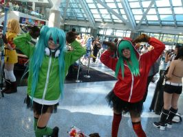 Anime Expo 2012: Hatune Miku Matryoshka Cosplay by bluupanda