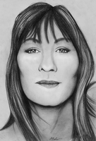Anjelica Huston by ThestralWizard