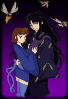 Naraku and Koyuki by HallowShell15