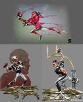 NFL players by A-BB