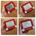 4 meme faces etch a sketch by pikajane