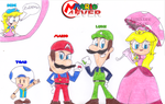 Mario4Ever's Redesign by sonic4ever760