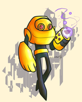 Space Robot Dude by Wonder-Waffle