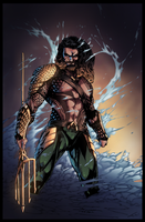 Aquaman - Dawn of Justice by Furlani