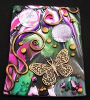Butterfly Garden ACEO by MandarinMoon