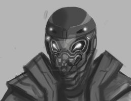 Mech head Practice by foofighters111