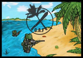 Caribbean Assault Force by Yoblicnep