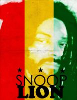 Snoop Lion Poster by aMorle