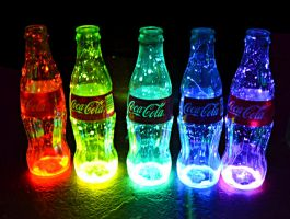 Rainbow Coke by lululoser