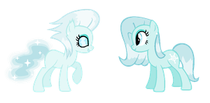 Ice Pony Preview! by PinkPopcornWithSoda