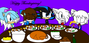 Happy Thanksgiving 2012 :D by SnowyAquarius