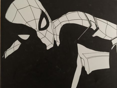 Spider-Man Homecoming inks by ethancastillo