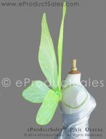 eProductSales Pixie Queene KIWI GREEN Fairy Wings by eProductSales
