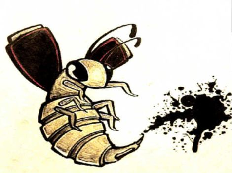 ink bee by T-K-Ink