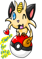 Meowth by silvazelover2