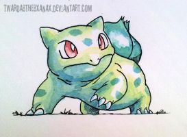 Bulbasaur:.1 by Twarda8