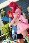 MLP: FIM - Rainbow Dash and Pinkie Pie (AX 2012) by BrianFloresPhoto