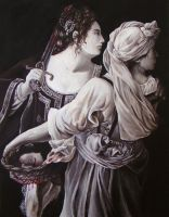 Judith and her Maidservant by Sorelliena