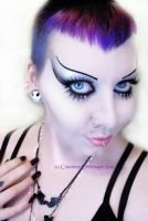. growing my hair back . by Countess-Grotesque