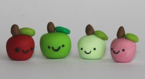 Apple Family by creativesculpey