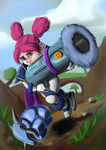 Elekk Shooter by DragonchildX