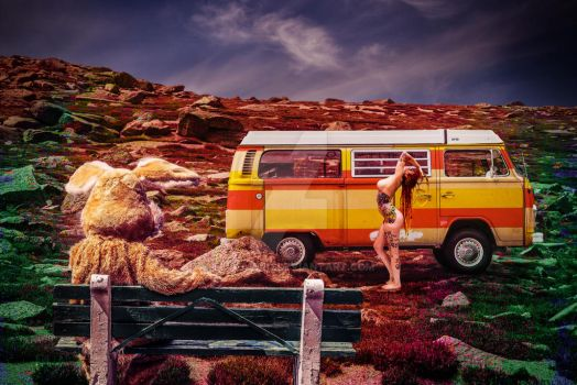 Tripping Hippie by FlWeyand
