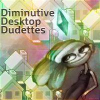 Diminutive Desktop Dudettes by Orteil