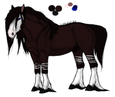 Equine/Horse Adoptable by CottinFurr