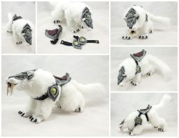 Swift Frostsaber Poseable Doll - Multiple Views by BeeZee-Art