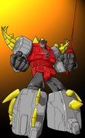 Transformers Classic - Snarl by lusiphur