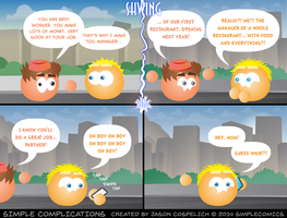 SC992 - Marvin and Wallace: ReNewed (5 of 6) by simpleCOMICS