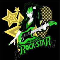Rock Star by MagnaStorm
