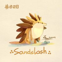 Sandslash by FL-ZC