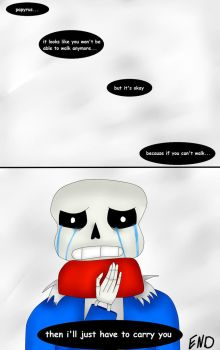 I'll Just Have To Carry You (Undertale Comic) Pg 7 by ImaBanana84