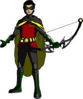 Teenage Damian Wayne by DetectiveX
