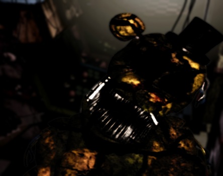 (x2)Withered Golden Freddy by DreemurrEdits87