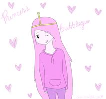 Princess Bubblegum by Aish-chan